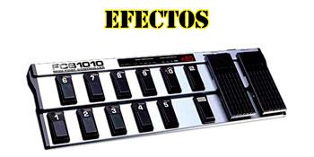 Efectos para instrumentos