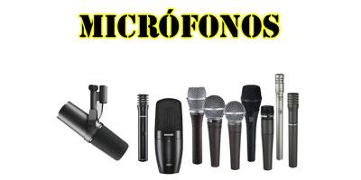 PRODUCTOS - MICROFONOS