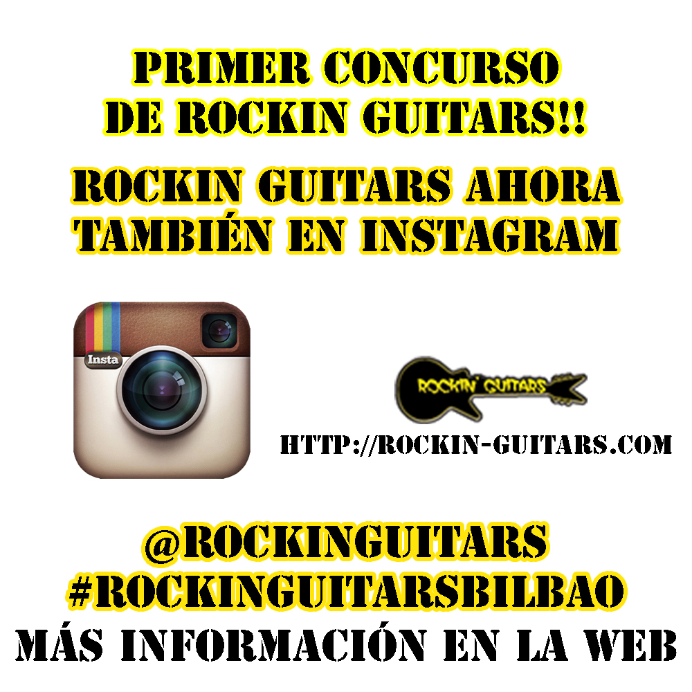 Primer concurso Rockin Guitars Bilbao - Instagram