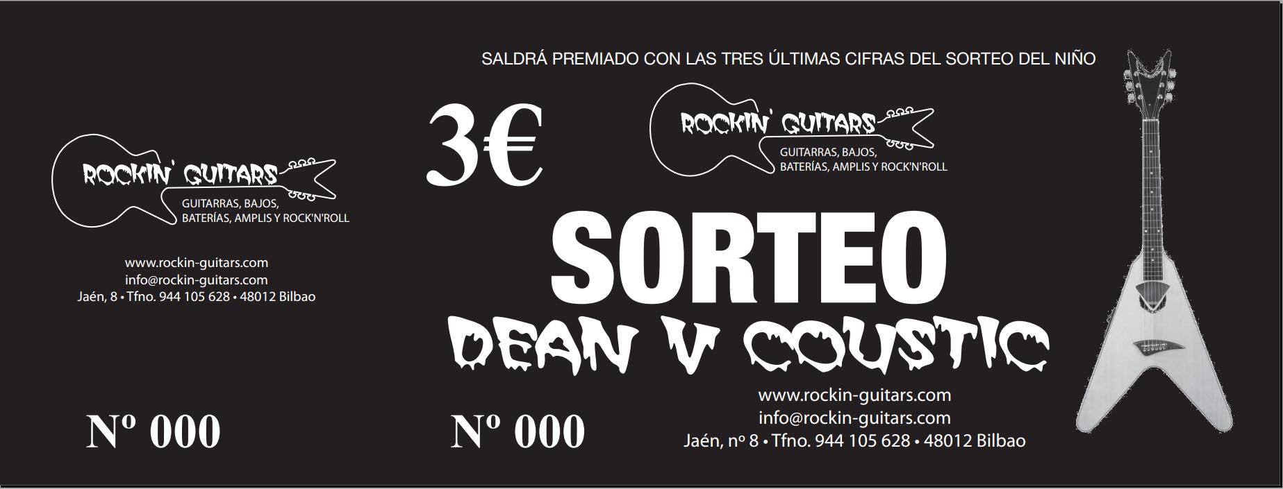 Primera rifa en Rockin Guitars - Bilbao