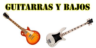 Productos - Guitarras y Bajos